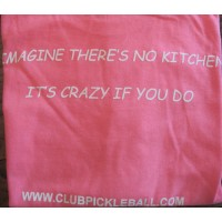 "Women's T-Shirt ""Imagine there's no Kitchen"""