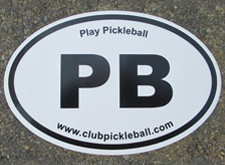 Pickleball Decal